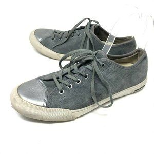 SeaVees ARMY ISSUE Grey Suede Sneakers 8